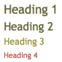 How To Add Headings