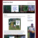 Bartlett Farm Stand Website And Brochure