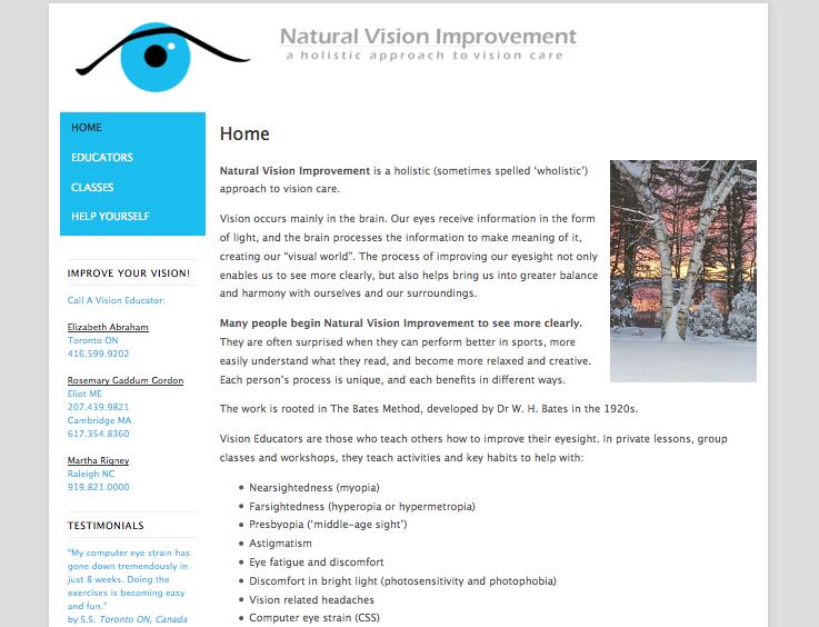 Vision Educators Home Page